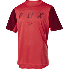 Fox Flexair Moth Maglietta a maniche corte Uomo, bright red